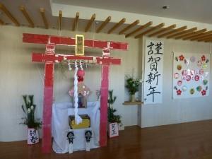 玄関ホールに郷神社(?!)